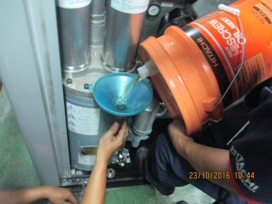 Bảo dưỡng máy nén khí