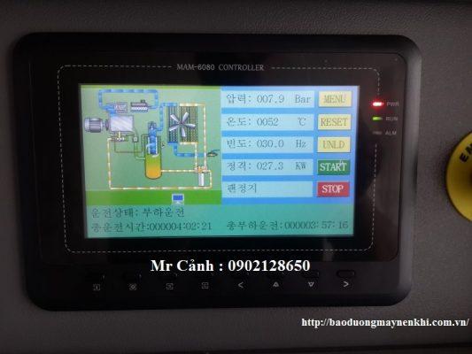Bảng điều khiển điện tử trực quan hỗ trợ hai ngôn ngữ Tiếng Anh và Tiếng Hàn