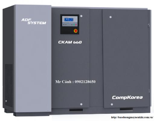 Hệ thống tích hợp Máy nén khí và máy sấy khí All in one