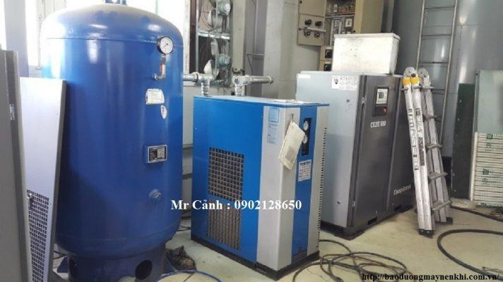 HD VINA Lắp đặt hệ thống máy nén khí Comkorea tại KCN Yên Phong Bắc Ninh