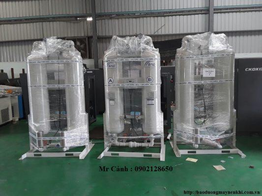 Máy sấy khí Hấp thụ Compkorea