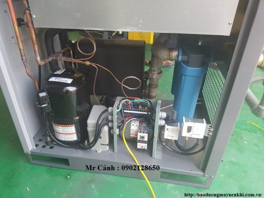 Máy sấy khí tác nhân lạnh ADF Compkorea, Tích hợp sẵn lọc đường ống