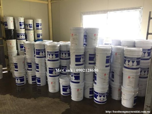 Sử dụng dầu bôi trơn Idemitsu chất lượng hàng đầu Nhật Bản