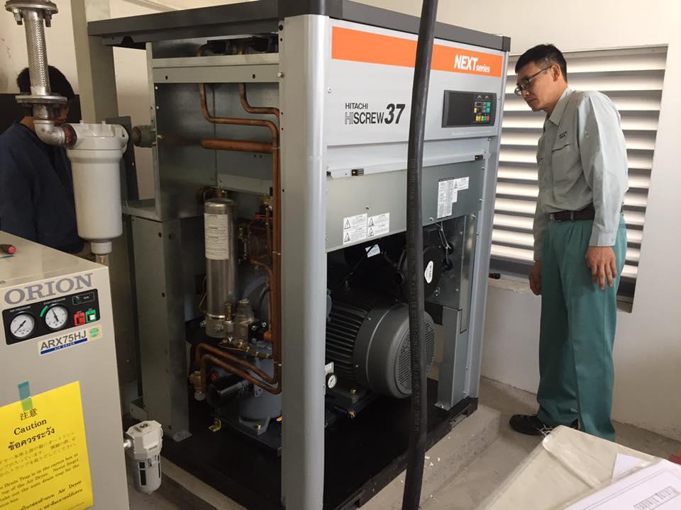 Đại tu máy nén khí Hitachi